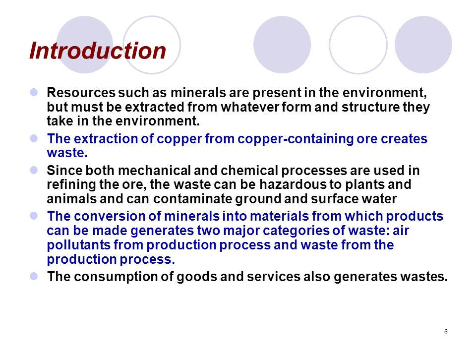 7 The Economics of Mineral Extraction The fashion in which the invisible hand of the market allocates mineral resources is virtually identical to the way in which it allocates fossil fuels.