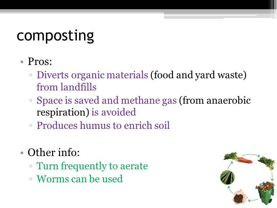Disposal of Solid Waste Three methods ▫Sanitary Landfills ▫Recycling ▫Incineration