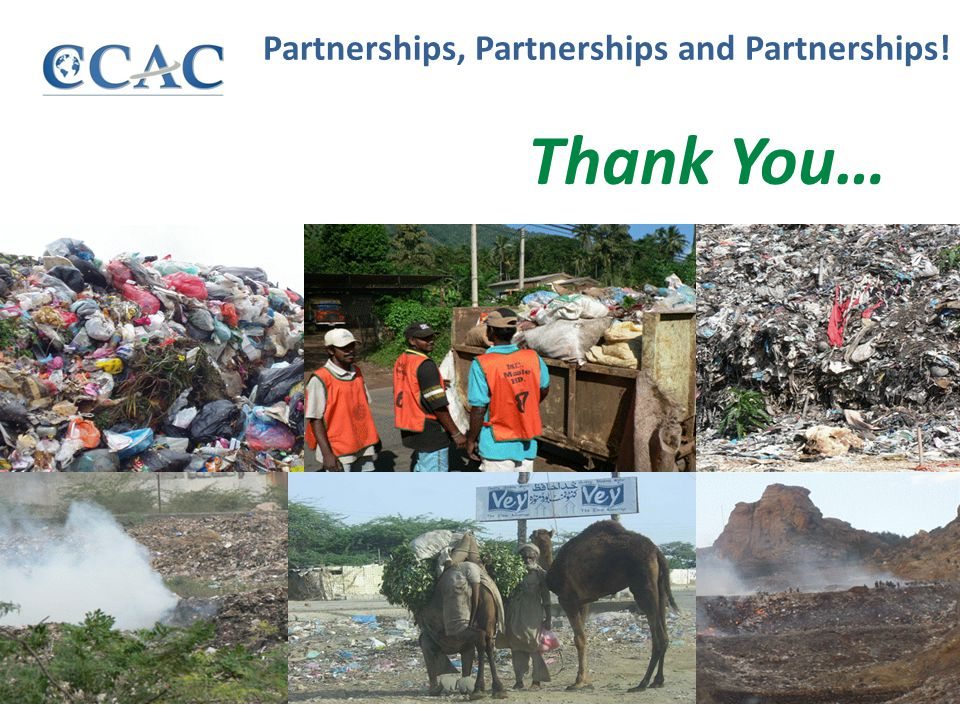 Partnerships, Partnerships and Partnerships! Thank You…