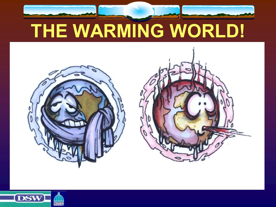 THE WARMING WORLD!