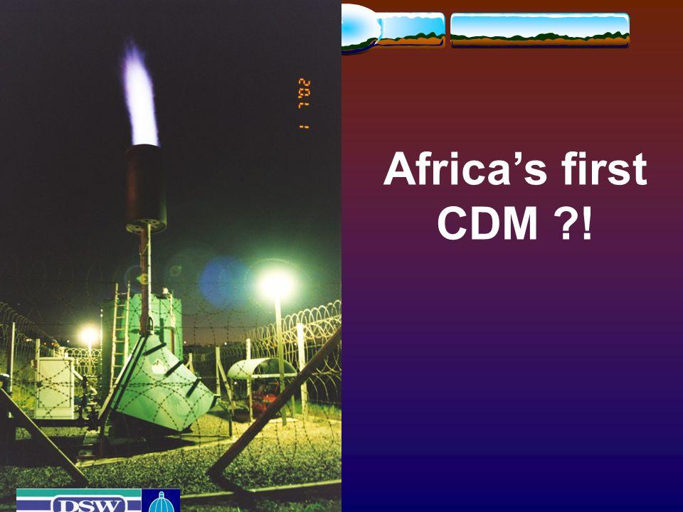 Africa's first CDM !