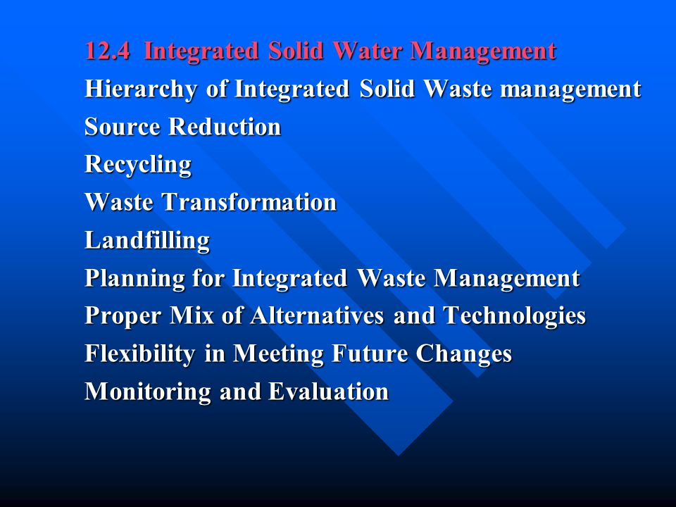 15 Disposal of Solid Wastes and Residual Matter 15-1 The Landfill Method of Solid Waste Disposal The Landfilling Process The Landfilling Process Preparation of the site for landfilling.