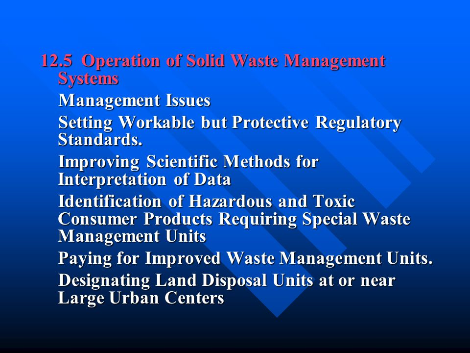 15-2 Composition and Characteristics, Generation and Control of Landfill Gases Composition and Characteristics of Landfill Gas Composition and Characteristics of Landfill Gas Generation of Landfill Gases Generation of Landfill Gases Management of Landfill Gas Management of Landfill Gas