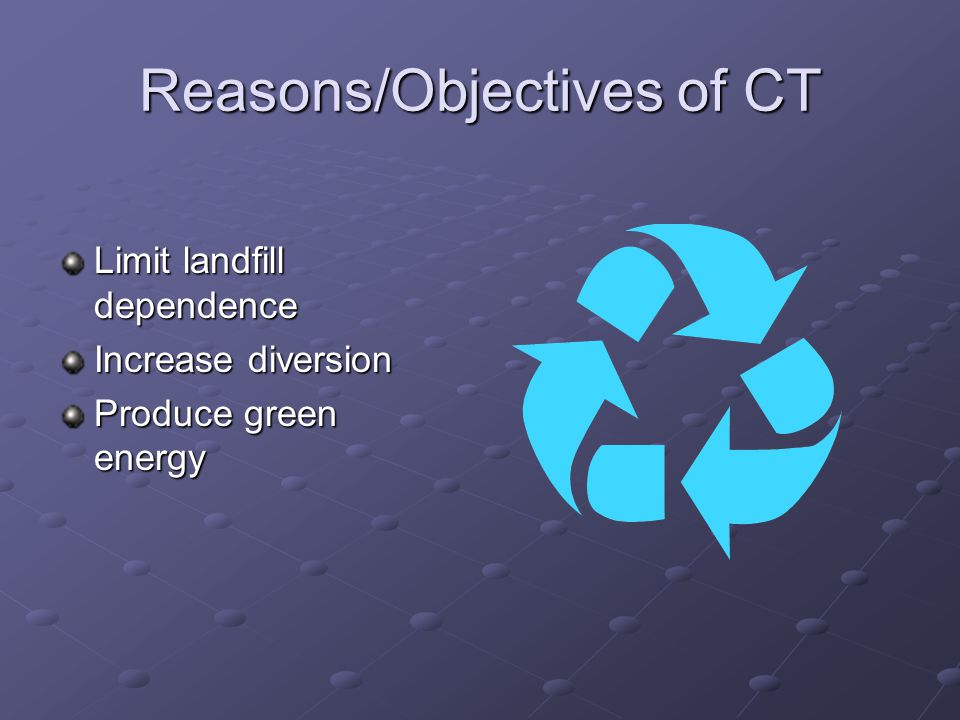 Power Plant Conversion Technology Materials Recovery Facility Trash What We Want Landfill Residual Landfill gas