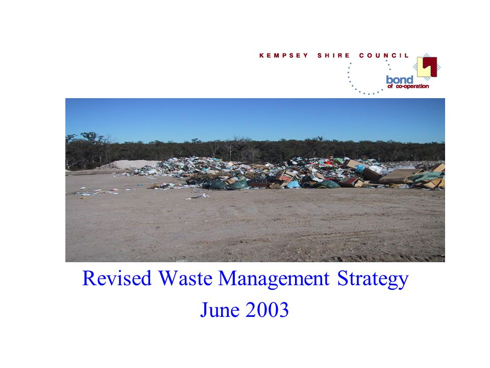 Revised Waste Management Strategy June 2003