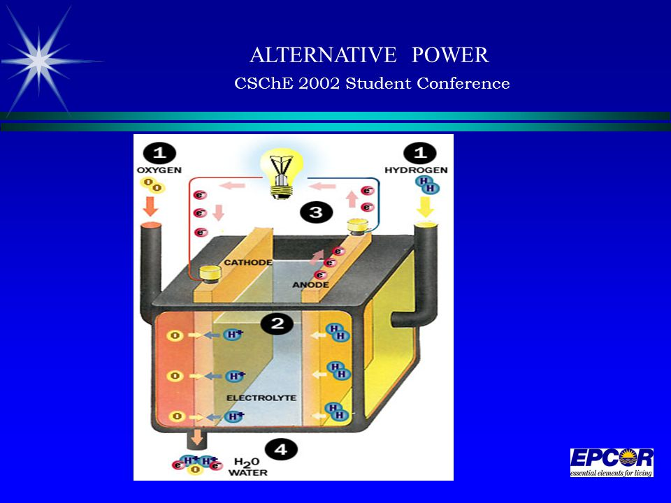 ALTERNATIVE POWER CSChE 2002 Student Conference
