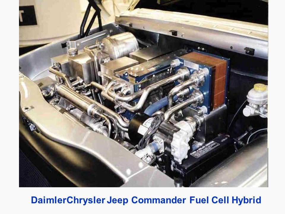 DaimlerChrysler Jeep Commander Fuel Cell Hybrid