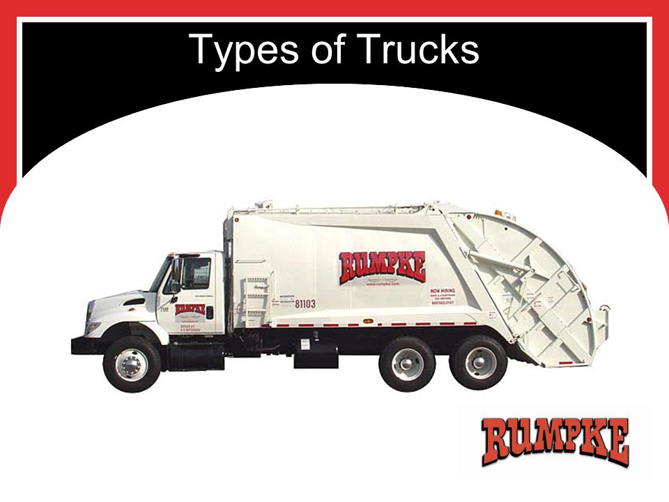 Types of Trucks