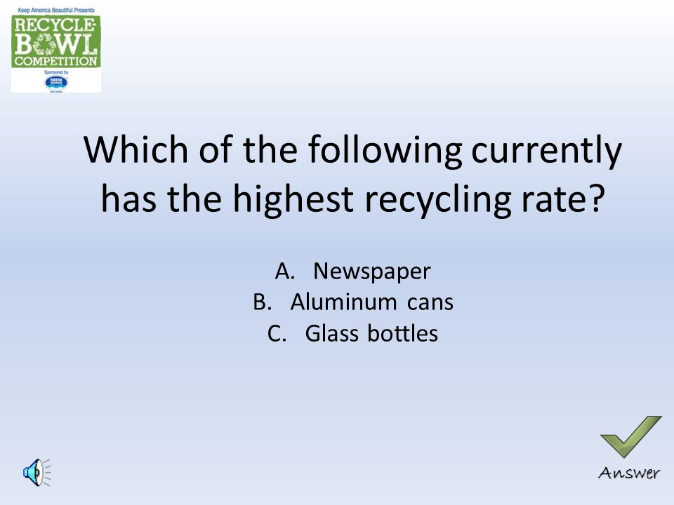 Correct Answer: A Recycled scrap metal was used on the Statue of Liberty.