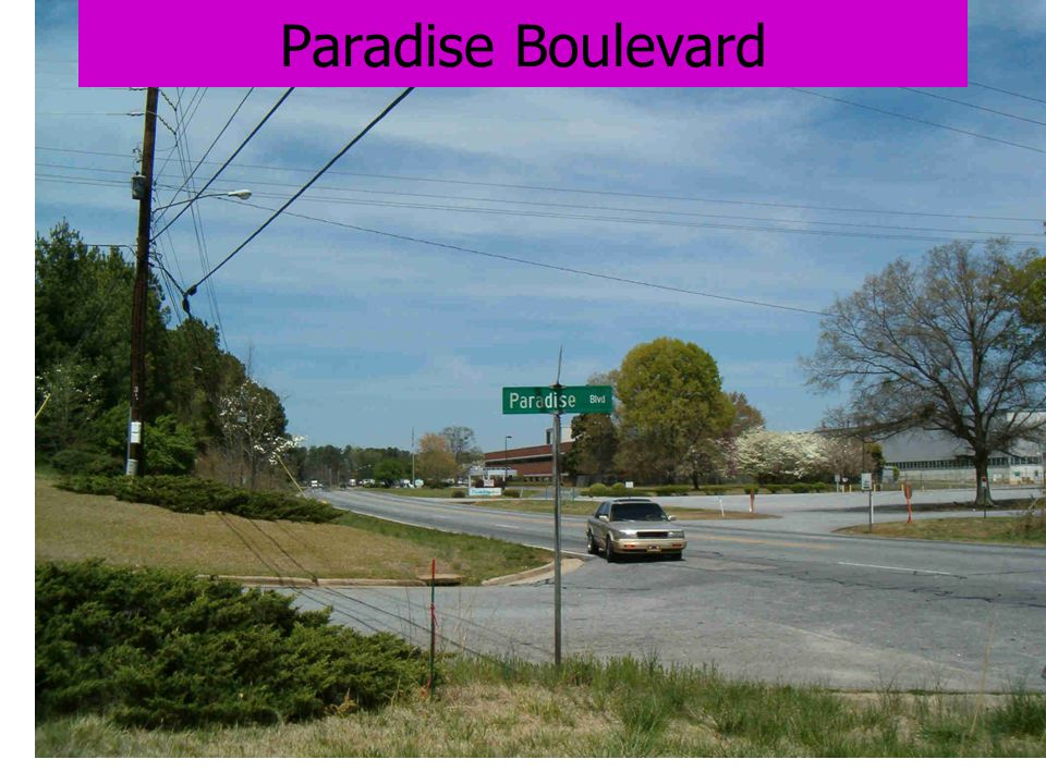Paradise Boulevard