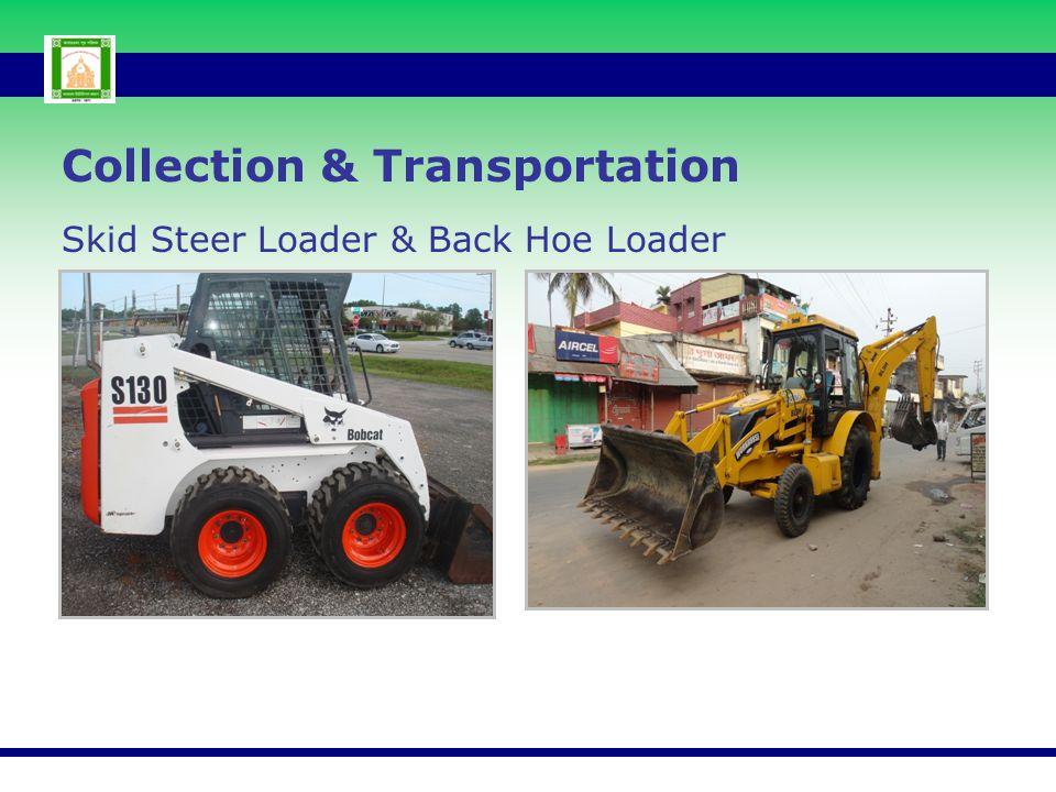 Skid Steer Loader & Back Hoe Loader Collection & Transportation