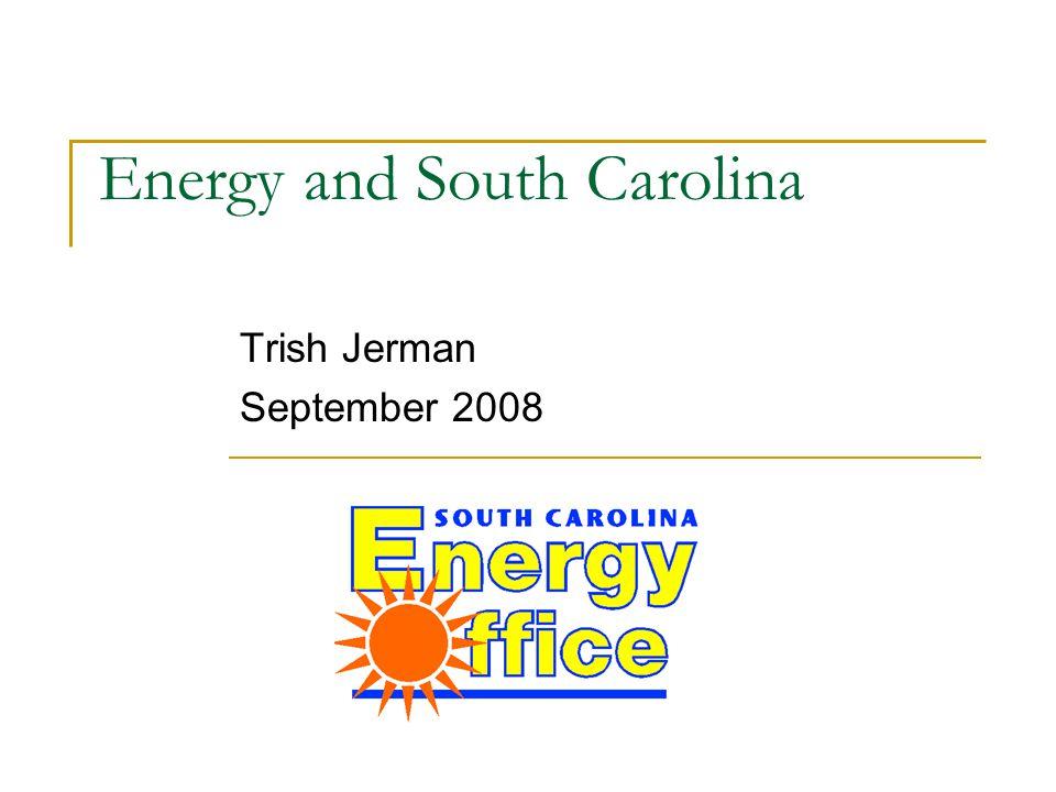 Energy and South Carolina Trish Jerman September 2008