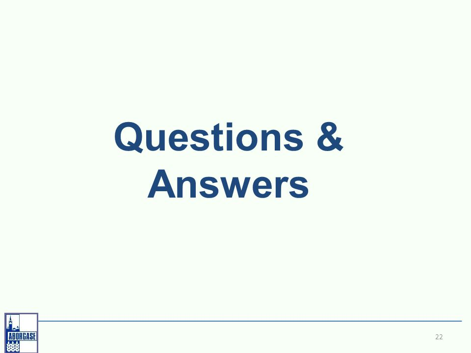 22 Questions & Answers