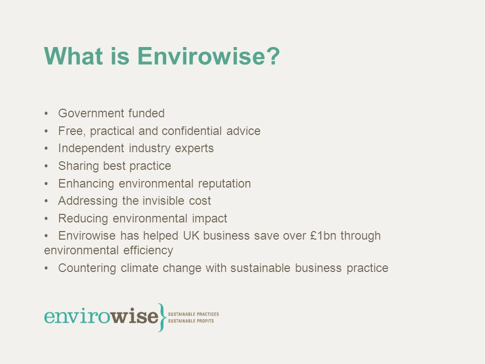 Waste? – Why bother? Volume Environmental costs Financial costs External pressure Legislation
