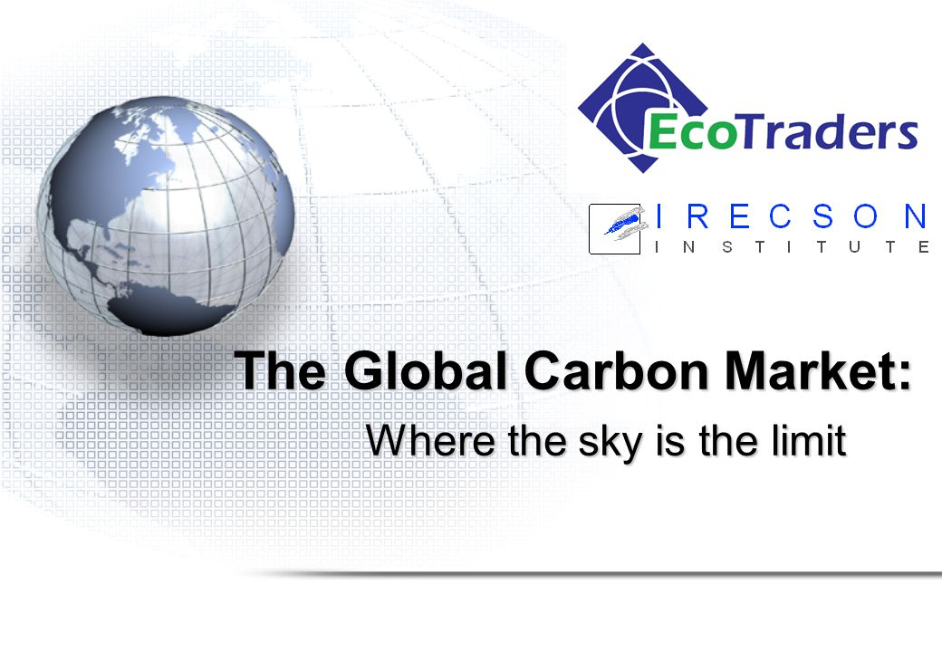 Project Stages: Brokerage Steps to broker emission reductions on the carbon market: 1.