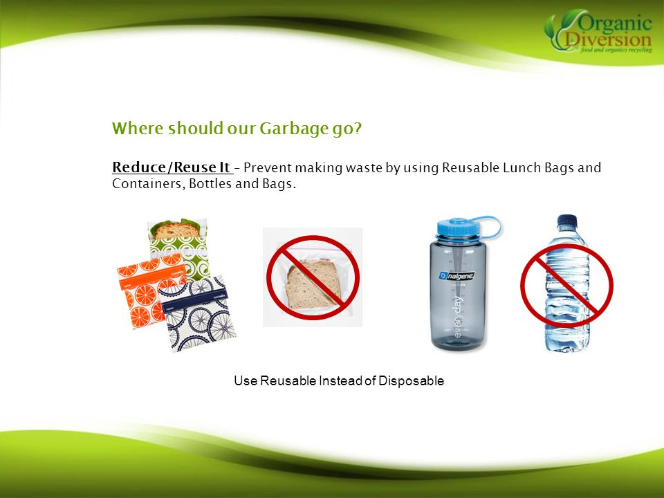 Where should our Garbage go.