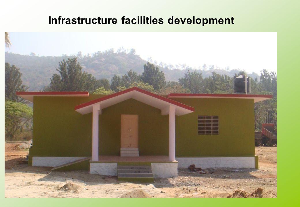 Infrastructure facilities development