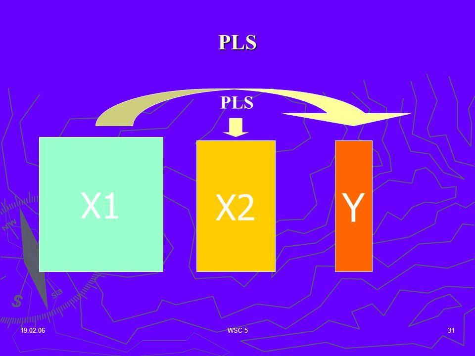 19.02.06WSC-531 PLS X1 X2 Y PLS