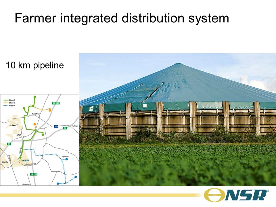 10 km pipeline Farmer integrated distribution system