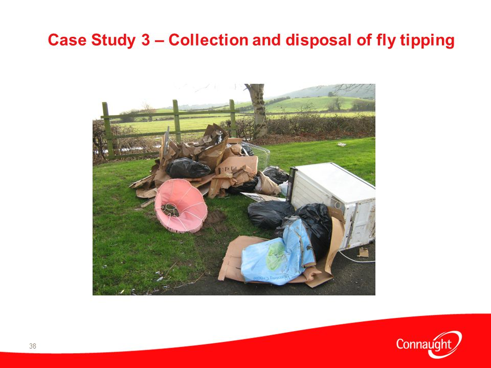 38 Case Study 3 – Collection and disposal of fly tipping