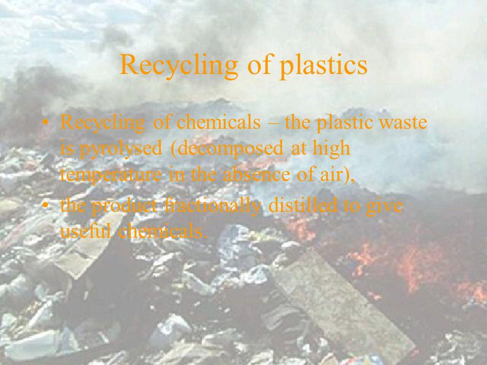 Materials polystyrene polyethene heating oil fats leather PVC paper wood Calorific values / kJ kg -1 46000 44000 37800 18900 16800 16000 Calorific values of plastics and various materials