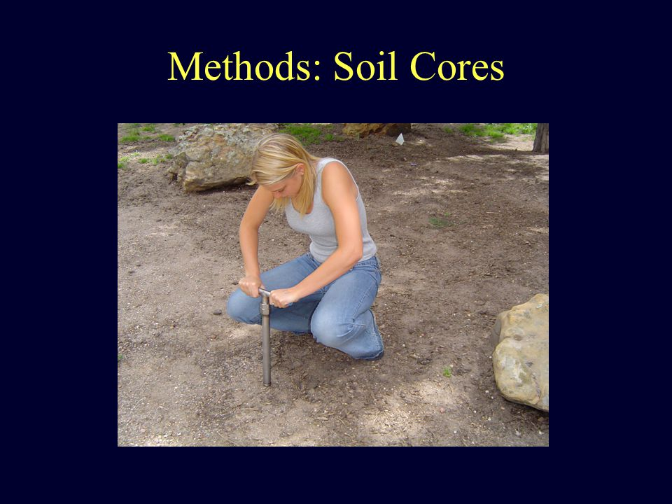 Methods: Soil Cores