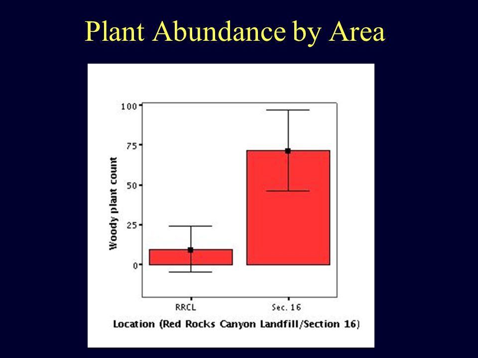 Plant Abundance by Area