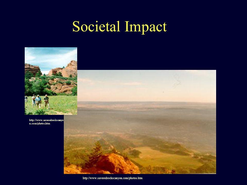 Societal Impact http://www.saveredrockscanyon.com/photos.htm