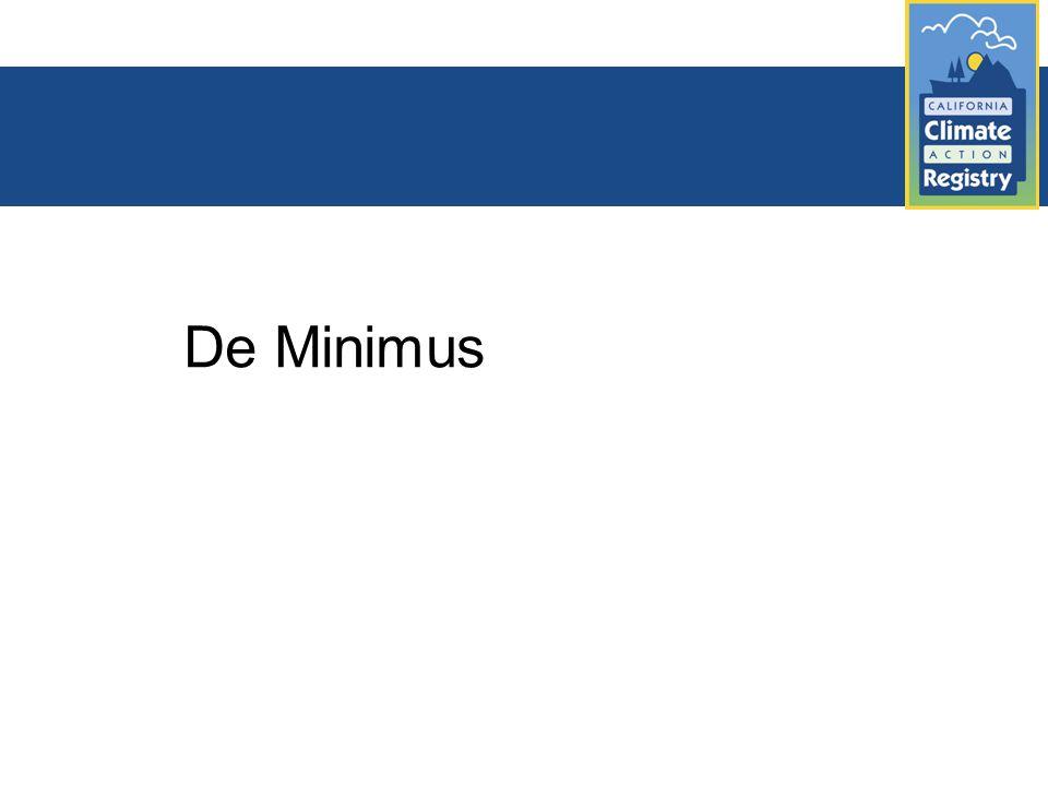 De Minimus