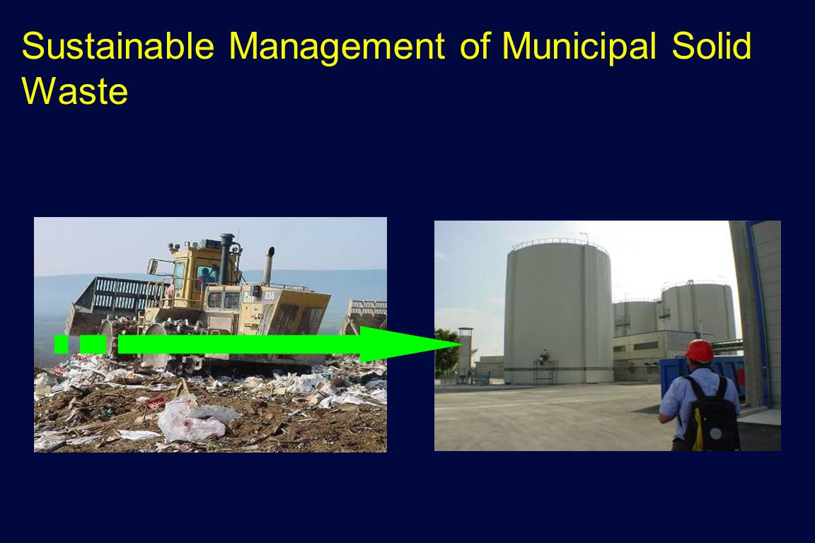 Sustainable Management of Municipal Solid Waste