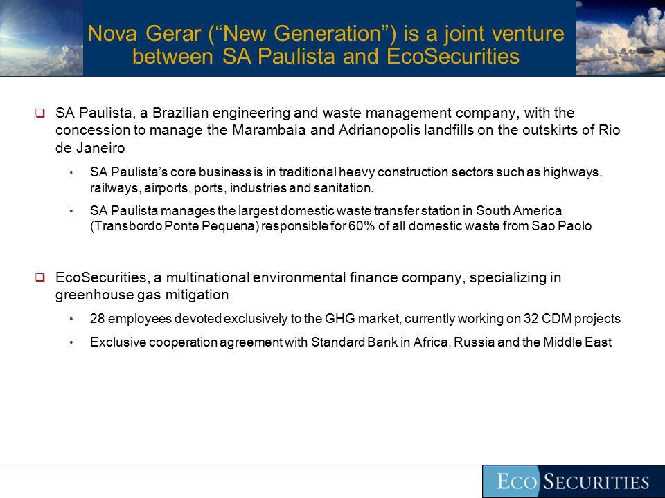 What is Nova Gerar.