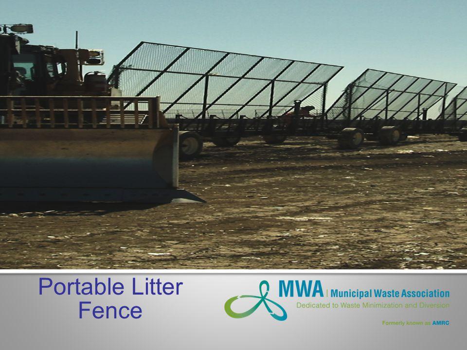 Portable Litter Fence