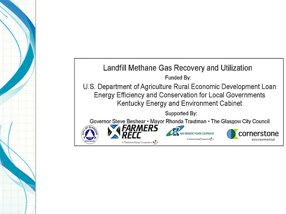 Landfill Gas to Electricity Cat 3516 LE Engine/Gensets The landfill gas is used as fuel to spin reciprocating engines and produce electricity 24/7