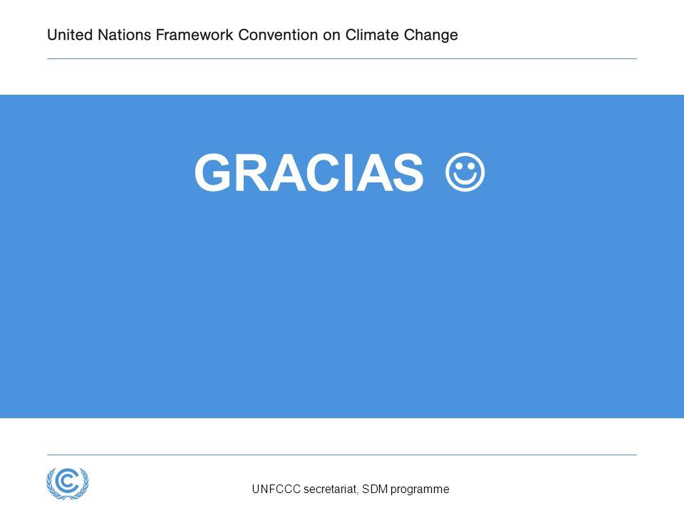 UNFCCC secretariat, SDM programme GRACIAS