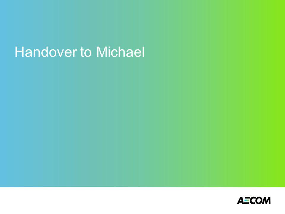 Handover to Michael