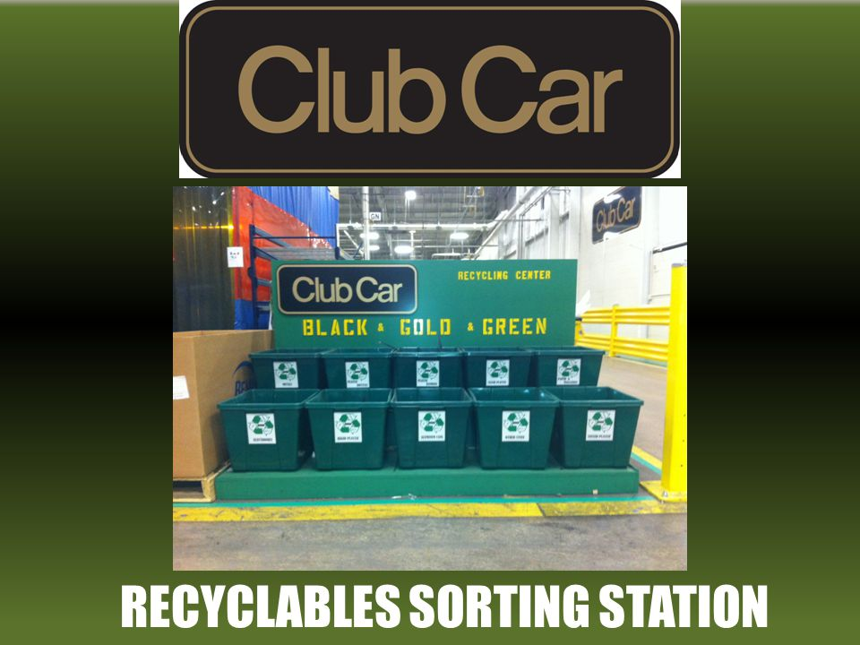 RECYCLABLES SORTING STATION