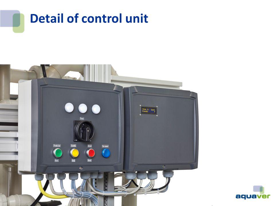 Detail of control unit