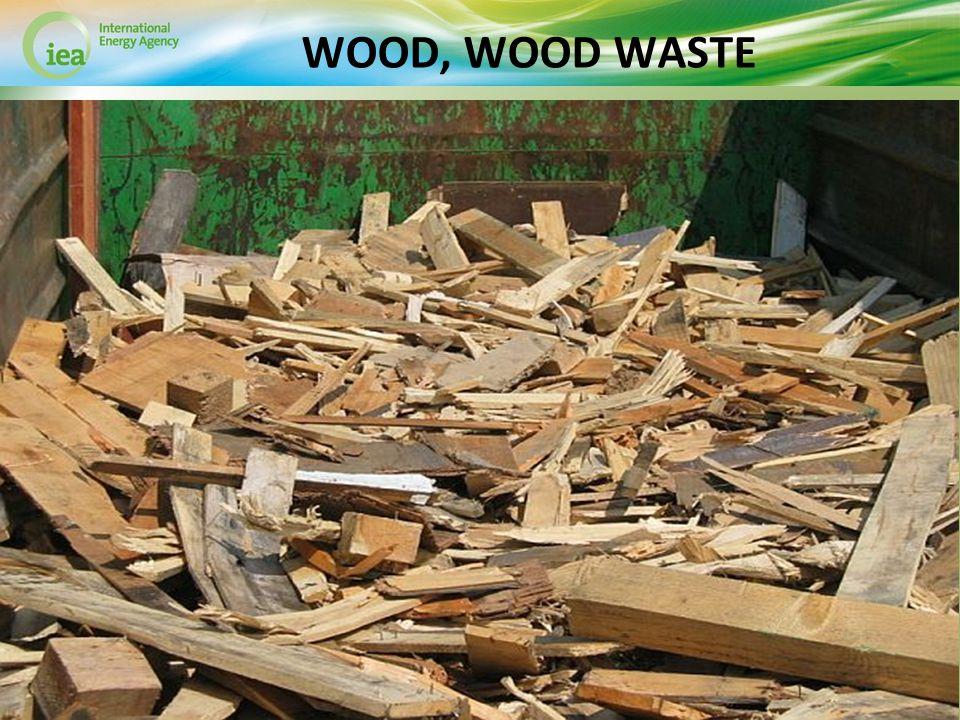 © OECD/IEA 2013 WOOD, WOOD WASTE