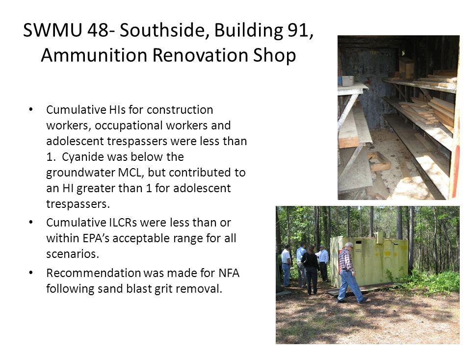 SWMU 48 Planned sampling locations January 2014