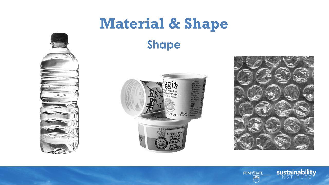 Material & Shape Shape