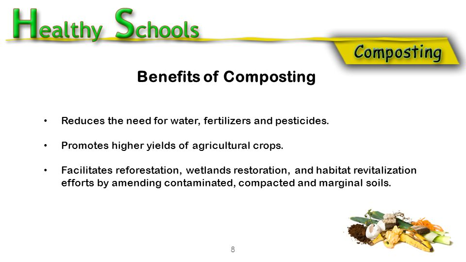 Reduces the need for water, fertilizers and pesticides.