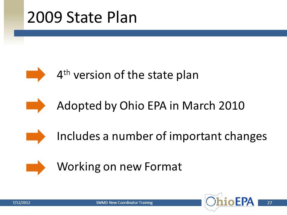 2009 State Plan