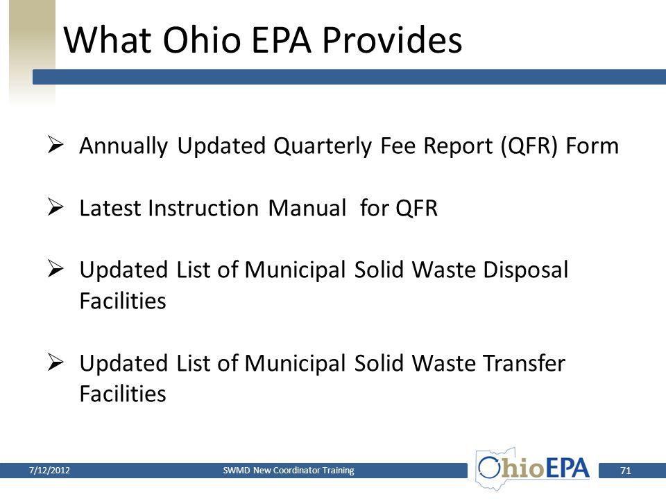 Ten Allowable Uses 7.Litter Law/Open Dumping Enforcement 8.Health Department Training 9.Municipal/Township Assistance 10.Compensation to Affected Comm