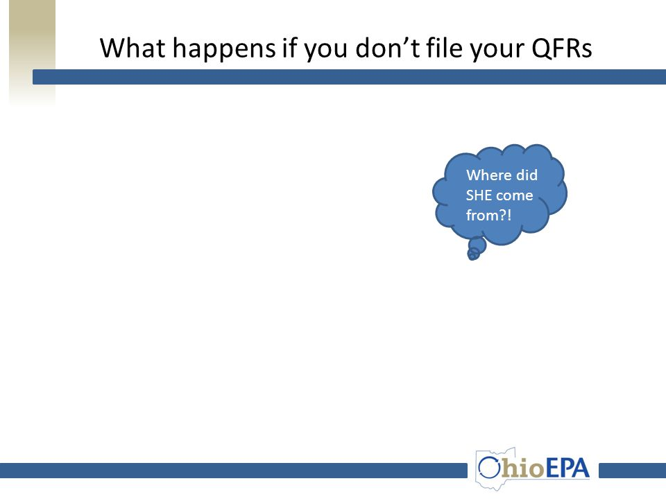 Planner Use of the Reported Data  Information provided in the QFR should be used to demonstrate financial solvency in plan update  Data provided in