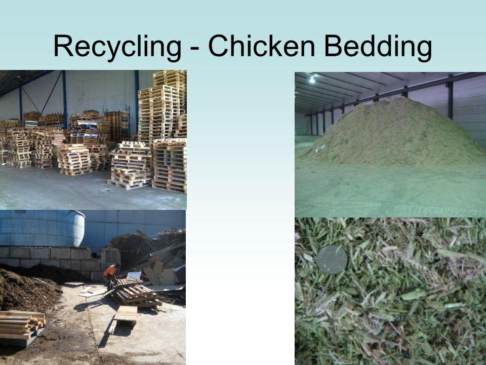 Recycling - Chicken Bedding