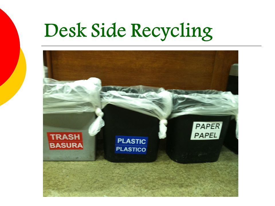 Desk Side Recycling