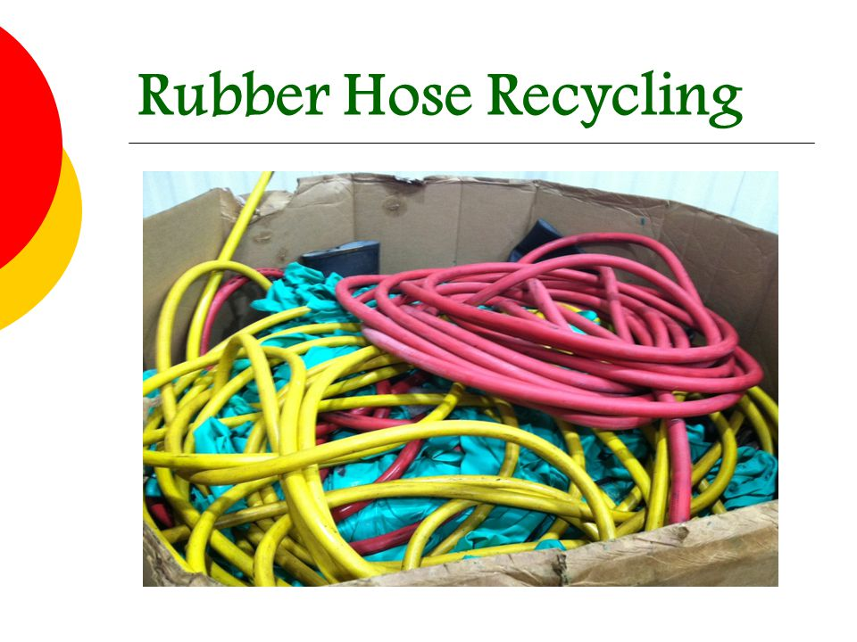 Rubber Hose Recycling