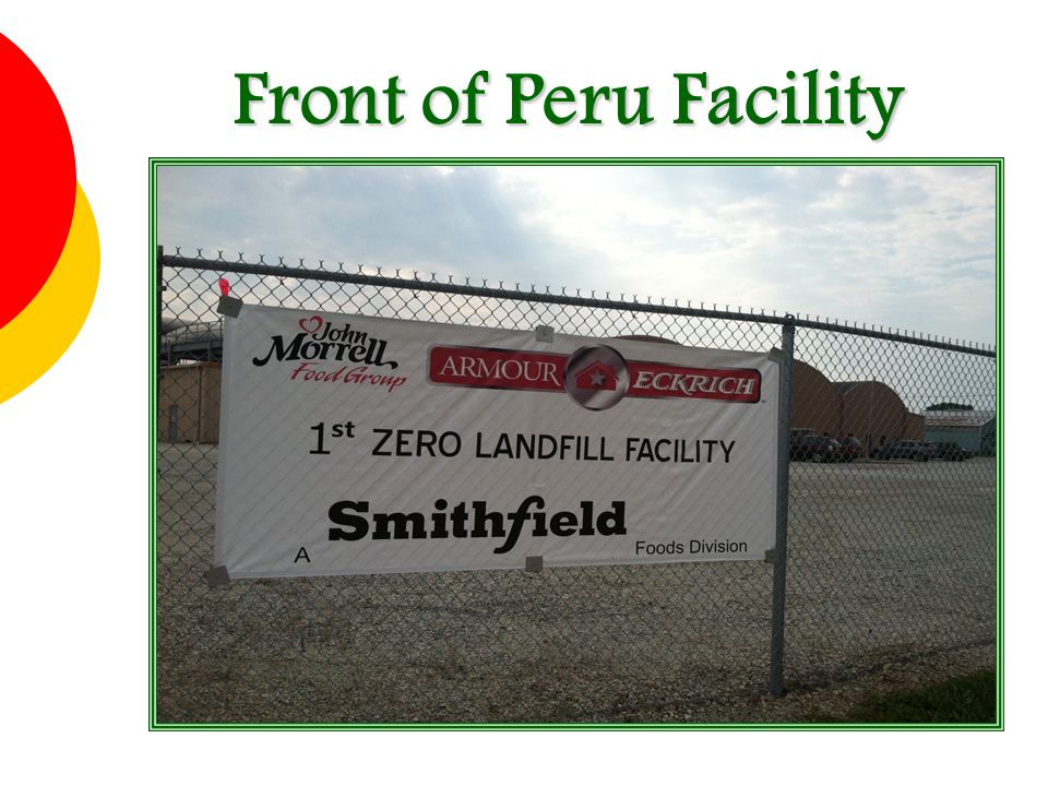 Front of Peru Facility