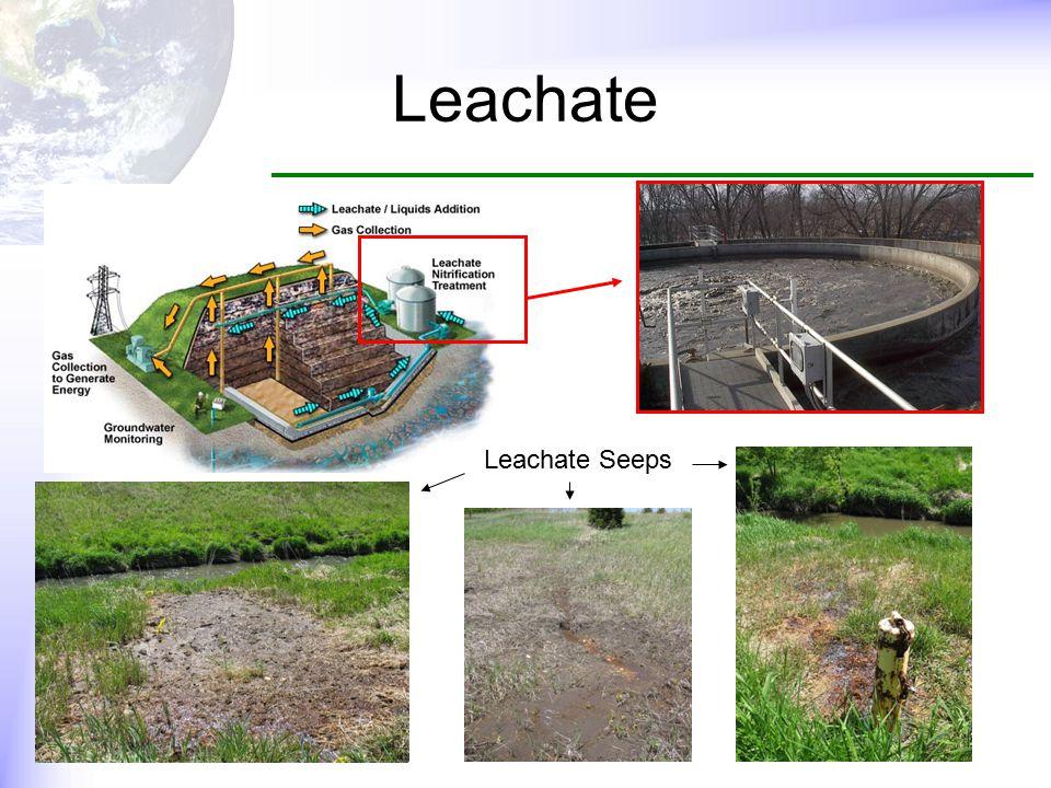 Leachate Leachate Seeps