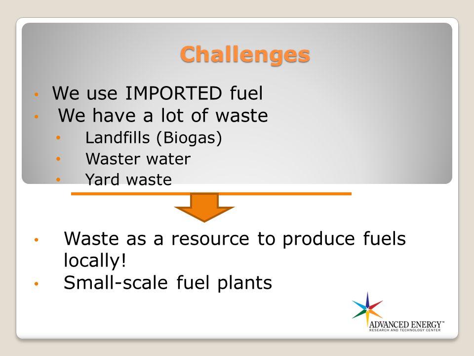 Oberon Fuels- Small-Scale Production Unit